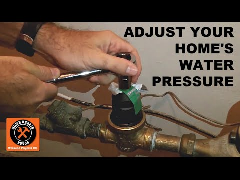 test and adjust your home 39 s water pressure by home repair tutor youtube. Black Bedroom Furniture Sets. Home Design Ideas