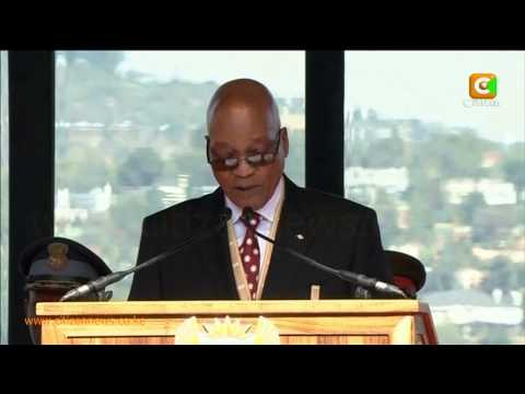 Zuma Sworn In As South African President