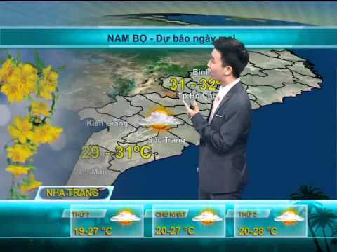 Cháu trai Đăng Quang dự báo thời tiết đầu xuân 2014