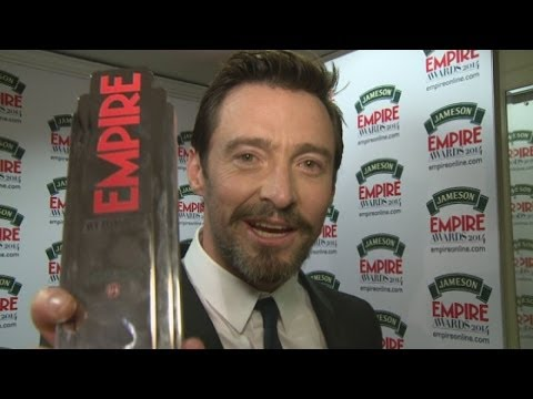 FUNNY Hugh Jackman interview: Hugh impersonates Arnie and gushes about Jennifer Lawrence