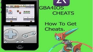 How To Get Cheats For GBA4IOS (Windows Tutorial)