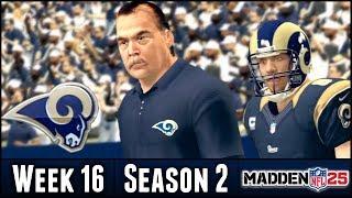 Madden 25 Rams Connected Franchise: Week 16 vs Cowboys - Season 2