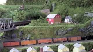 NY Society Of Model Railroad Engineers HO Scale Layout