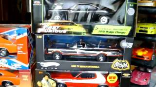 1:18th Scale Movie Diecast Car Collection (FOR SALE)