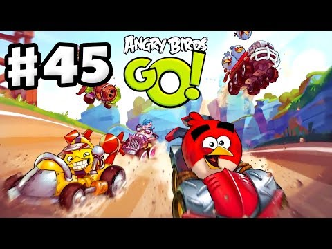 Angry Birds Go! Gameplay Walkthrough Part 45 - Upgraded Dragster Snout L6! Stunt (iOS, Android)