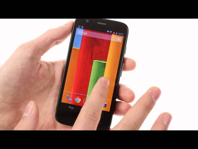 Motorola Moto G: hands-on