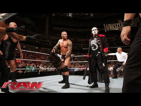 Sting et Randy Orton vs The autority