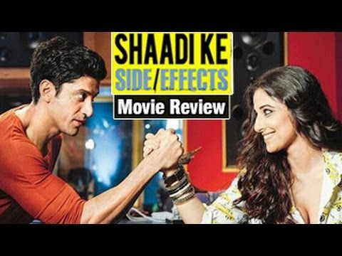 Shaadi Ke Side Effects Movie Review: Vidya Balan & Farhan are no fun!