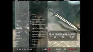 Skyrim Xbox 360 Dragonbone Weapons