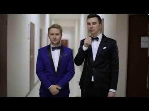 Ведущие Денис Игловиков и Владимир Бабенко отрывок со свадьбы