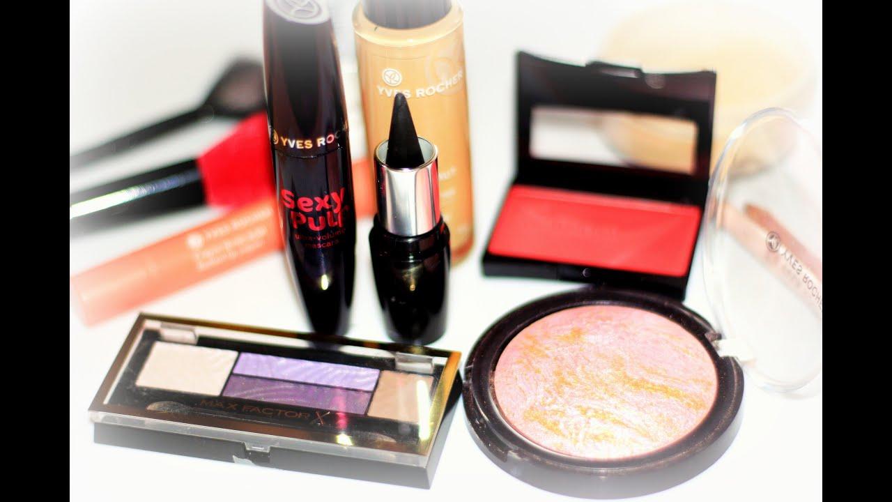 Собирайся со мной GRWM Осенний макияж 2015 ?? Fall Make up tutorial с косметикой Yves Rocher