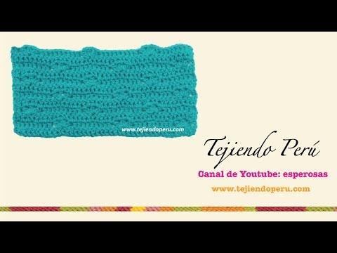 punto fantas a tejido en crochet 6 youtube. Black Bedroom Furniture Sets. Home Design Ideas