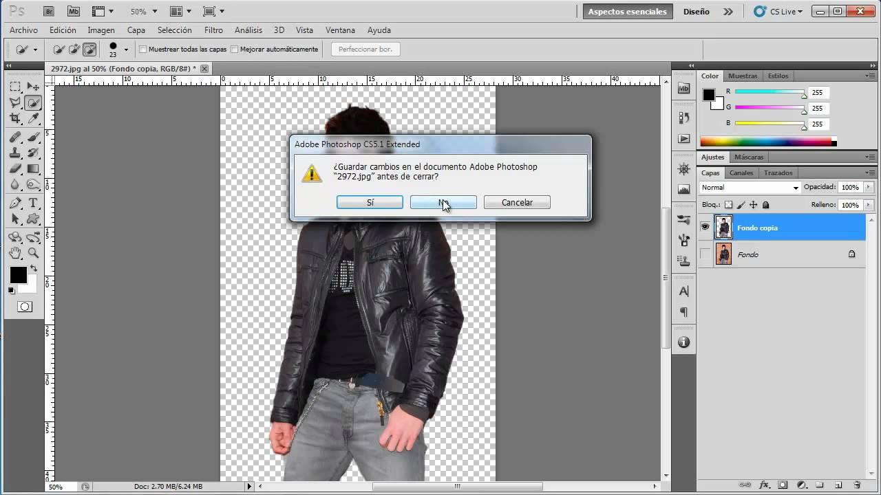 Quitar fondo a una imagen [Online] [Sin descargar nada ...