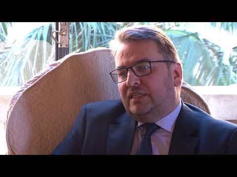 Embaixador da Suécia é recebido no Palácio Piratini