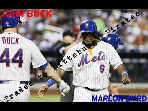 Marlon Byrd and John Buck Traded to the Pirates!