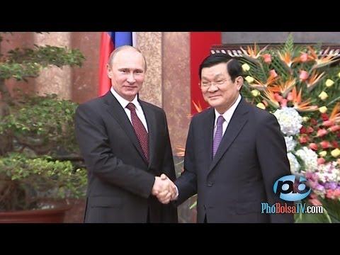 Tổng thống Nga Putin thăm Việt Nam, đẩy mạnh quan hệ chiến lược toàn diện