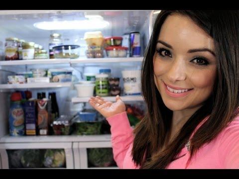 O que tem na minha geladeira