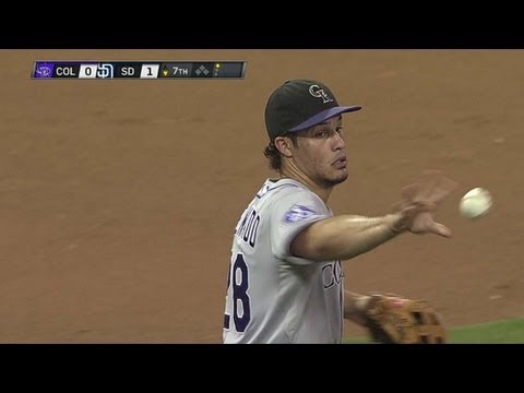 COL@SD: Arenado makes strong throw to retire Hundley