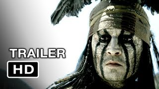 The Lone Ranger Official Trailer #2 (2012) Johnny Depp
