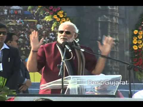 Narendra Modi's speech at Gujarat Tourism's 2014 International Kite Festival in Ahmedabad