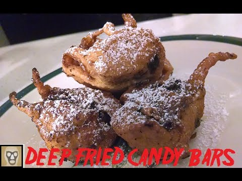 The Plastic Spoon: Deep Fried Candy Bars