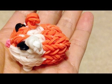Rainbow Loom Charms: Guinea Pig / Hamster (DIY Mommy, Fun Loom + Crazy Loom, Pets)
