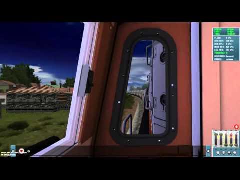 Menjalankan Lokomotif terbaru di Indonesia CC 206 13 100