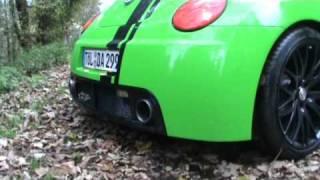 VW New Beetle Sound by Muggianu-Turbo 1.8 Twinabgasanlage ab Kat RSI Auspuff Race Motorsport Sound videos