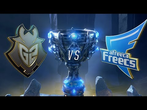 G2 vs AFS | Worlds Group Stage Day 6 | G2 Esports vs Afreeca Freecs (2018)