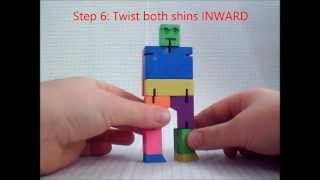 How To Put CubeBot Back Together Instructions. Funny Stop