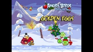 Angry Birds Seasons Wreck The Halls Golden Eggs