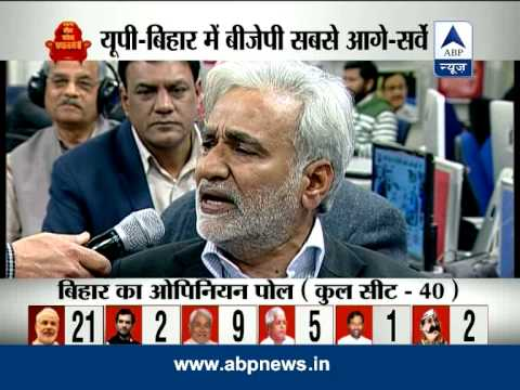 ABP News - Nielsen Opinion Poll: BJP sweep in UP, SP, BSP hit