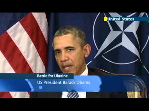 Obama at NATO pledges support for eastern Europe