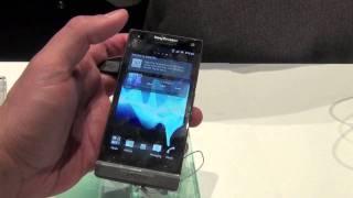 Sony Ericsson Xperia S Comentarios Y Especificaciones CES