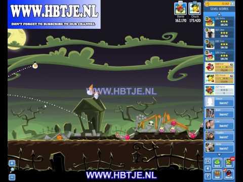 Angry Birds Friends Tournament Level 4 Week 77 halloween (tournament 4) no power-ups