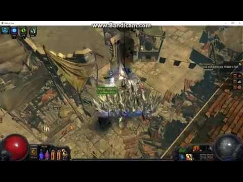 Path of Exile 2.5 Raider Flicker Strike, Quay Map Run
