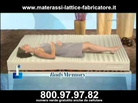 Il fabbricatore materasso in lattice for Materassi fabricatore offerta televisiva