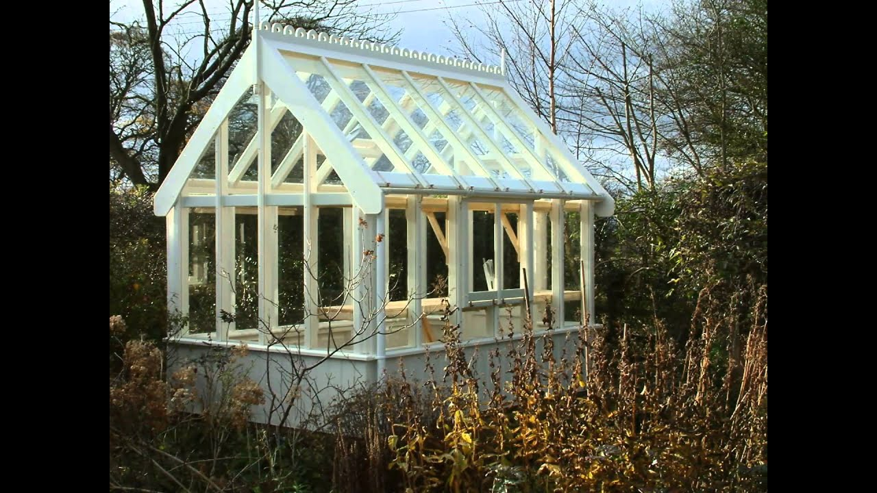 Victorian greenhouse of bath youtube for Victorian style greenhouse