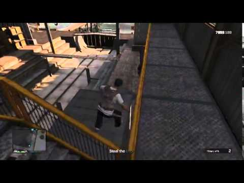 GTA V Online Mission-Dry Docking(Martin)