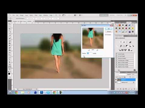 Photoshop Blur Background Tutorial-by StreetyDzN