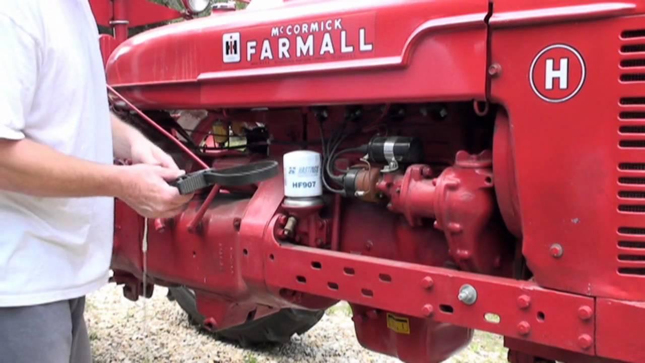Farmall Oil  U0026 Start