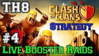 Clash Of Clans: LIVE Boosted Raiding On The Road To