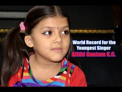 Youngest Singer Atithi KC Gautam Interview