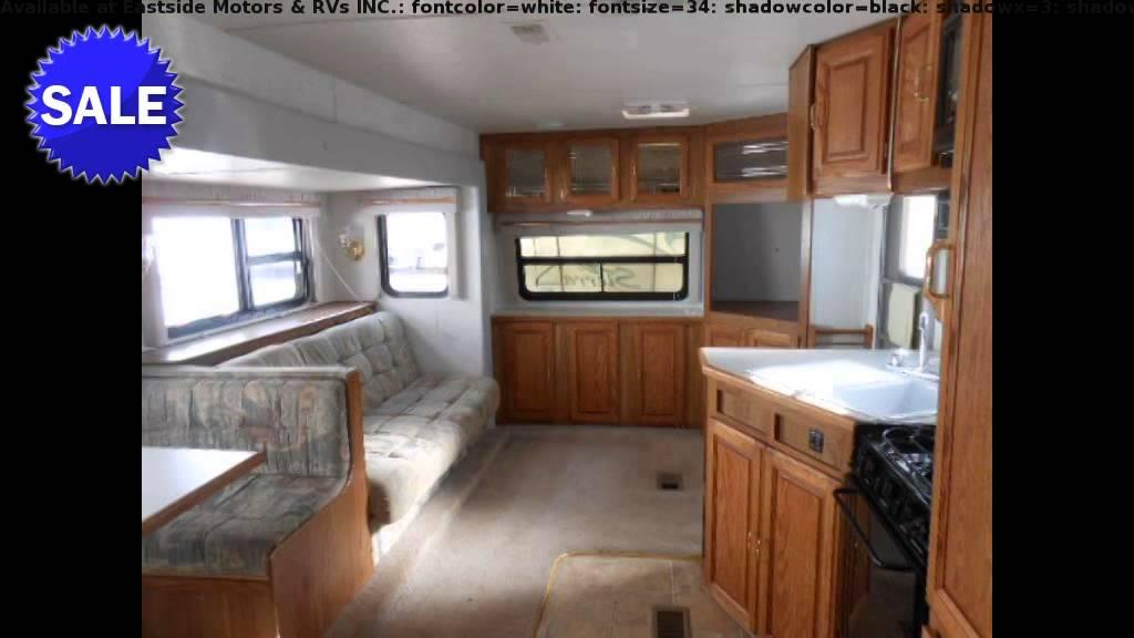 2000 Forest River SIERRA 25FK Travel Trailer Front Living Room In Gillette