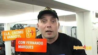 Fernando Marques - CLA, Vanadyl e Cromo Picolinato