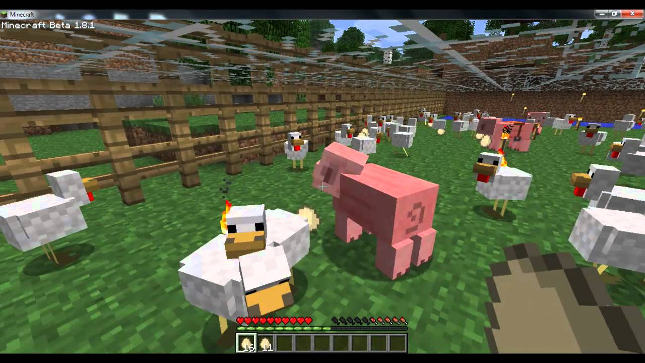 How to Start an Animal Farm on Minecraft: 13 Steps (with ...