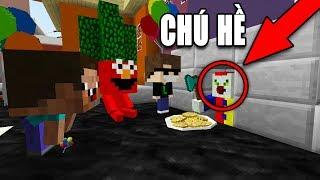 THÁCH BẠN TÌM ĐƯỢC CHÚ HỀ MA QUÁI IT!! - Minecraft: Trốn Tìm