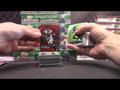 Hai's 2014 Topps Chrome Mini Football 2 Box Break