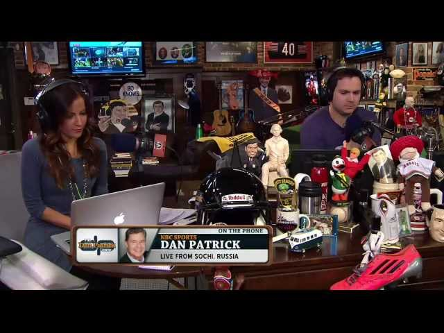 Dan Patrick talks about what Sochi is like during the Olympics 2/7/14
