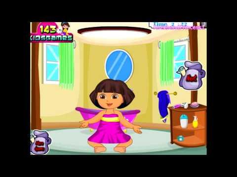 Dora The Explorer Online Games Dora Bathing Games